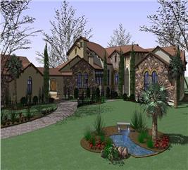 House Plan #117-1053