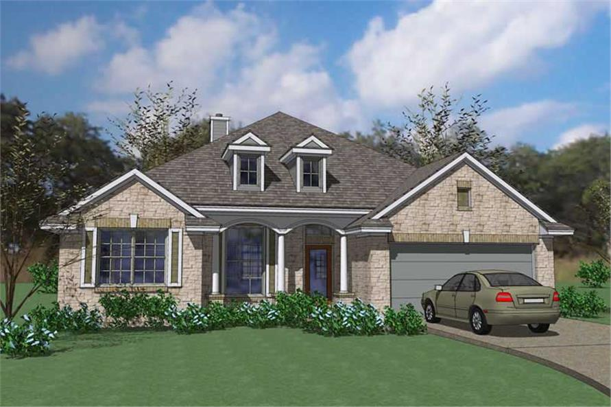 Main image for house plan # 20873