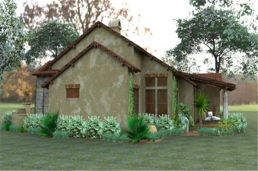 Right Side View of this 3-Bedroom,1780 Sq Ft Plan -1780