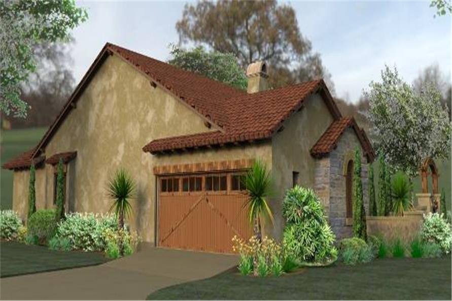 Left Side View of this 3-Bedroom,1780 Sq Ft Plan -1780