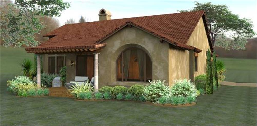 117-1055: Home Exterior Photograph-Rear View