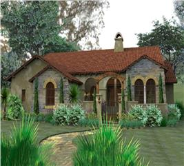House Plan #117-1055