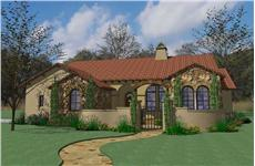 Main image for house plan # 20728
