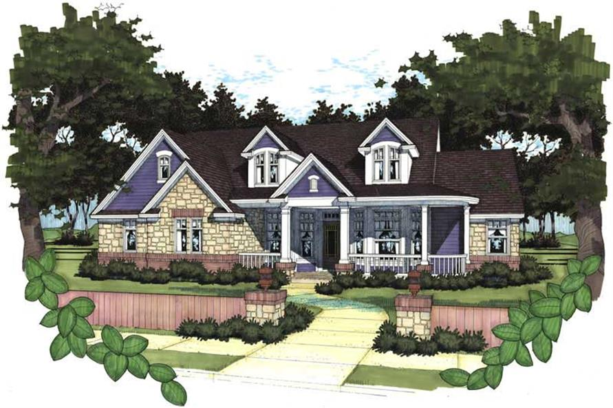 Main image for house plan # 20764