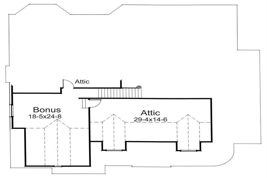 Home Plan Other Image of this 4-Bedroom,1991 Sq Ft Plan -117-1056