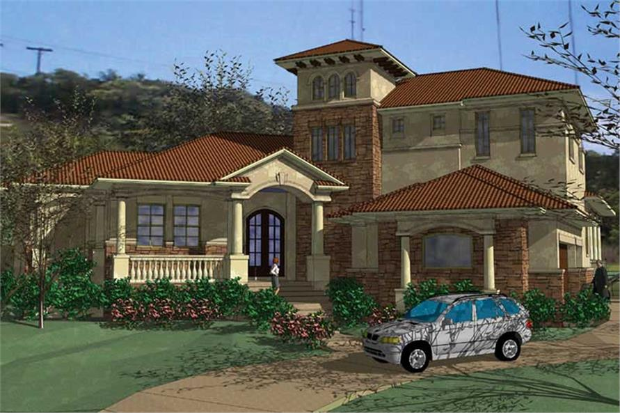 Main image for house plan # 20860