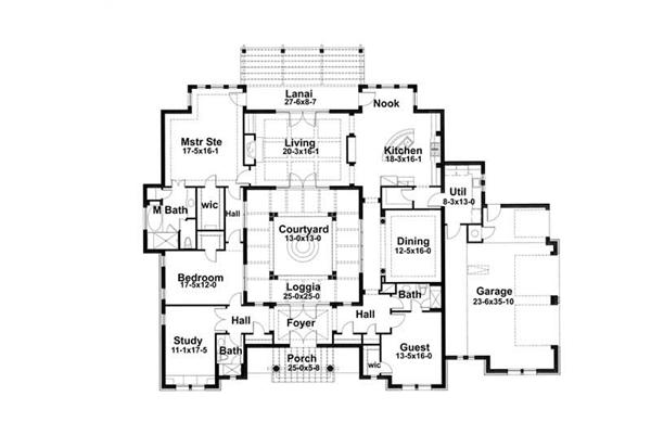 Spanish Hacienda Courtyard House Plans likewise Valmont together with ALP 027P besides Architect as well Kaiser 2713. on 1st floor master plans