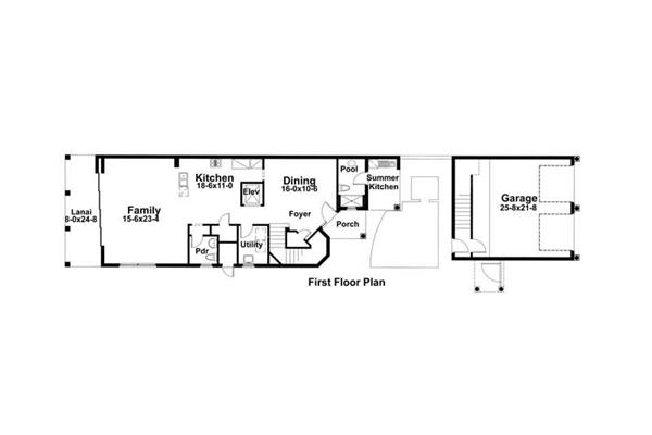 Main Floor Plan DW3967