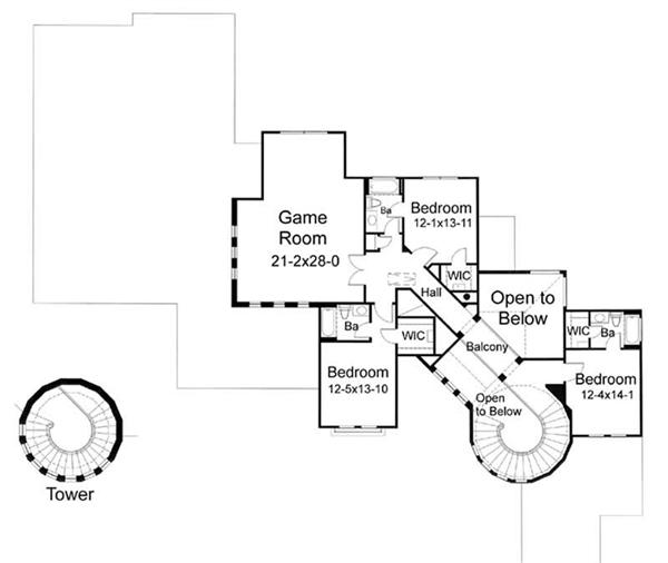 Second Floor Plan DW5202