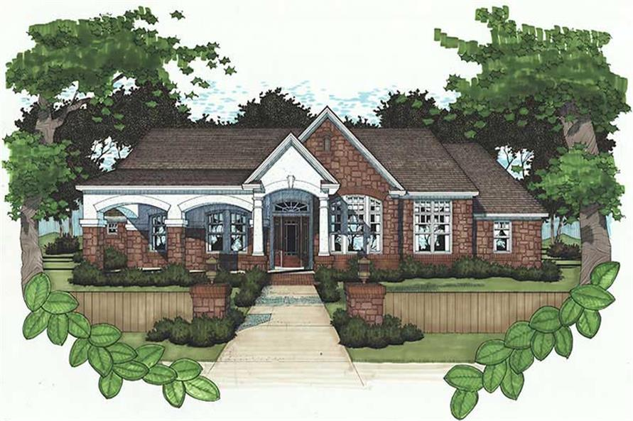 Main image for house plan # 20788
