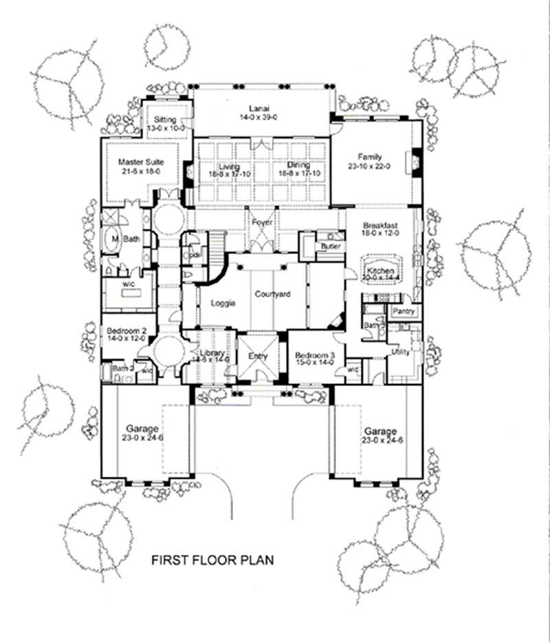 Main Floor Plan DW6804