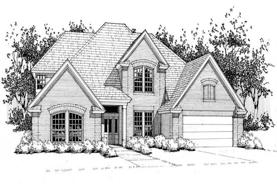Main image for house plan # 20783