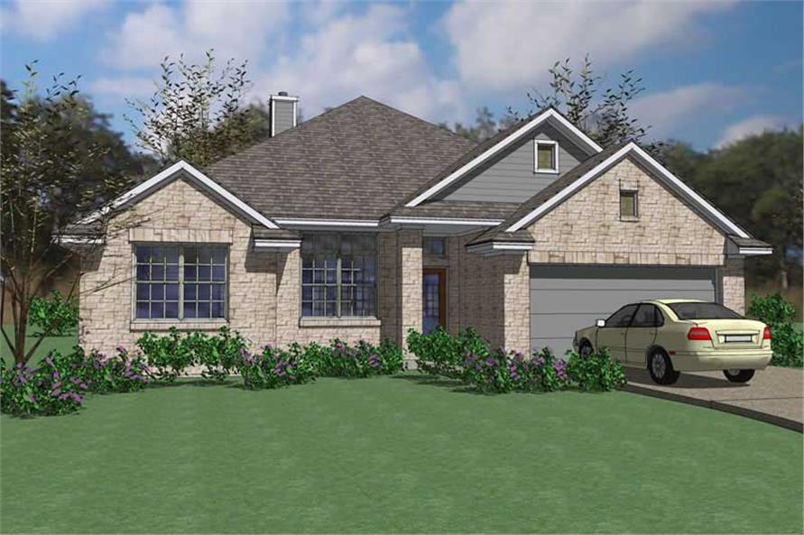 Main image for house plan # 20871