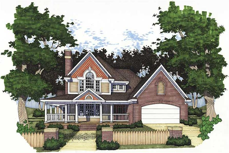 Main image for house plan # 20778
