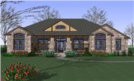Main image for house plan # 20784