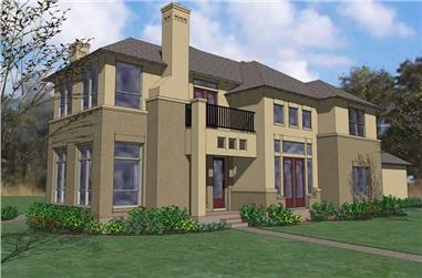 6-Bedroom, 3940 Sq Ft House Plan - 117-1075 - Front Exterior