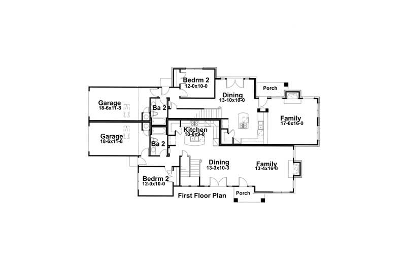 Main Floor Plan DW3940