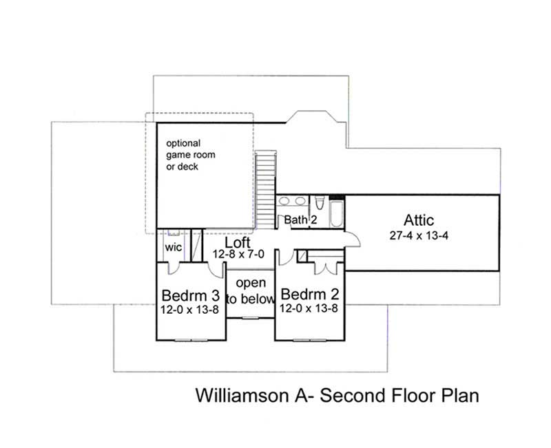 House plans home design the williamson c 20816 for 1077 marinaside crescent floor plan