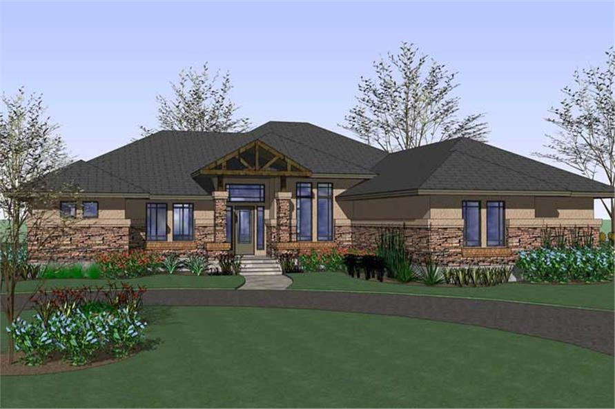 Main image for house plan # 20818