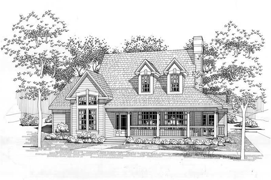 Main image for house plan # 20786