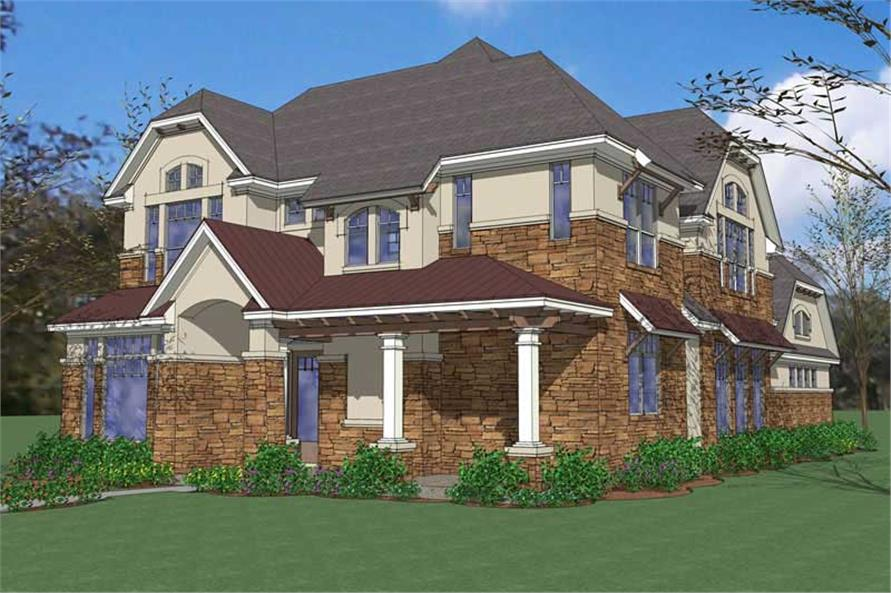 Main image for house plan # 20847