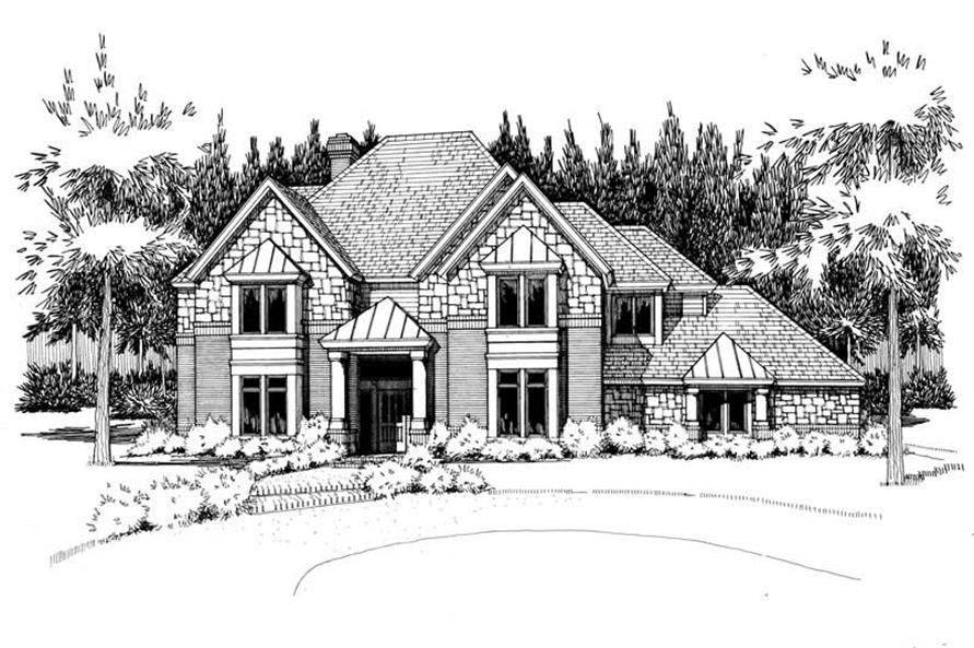 Main image for house plan # 20841