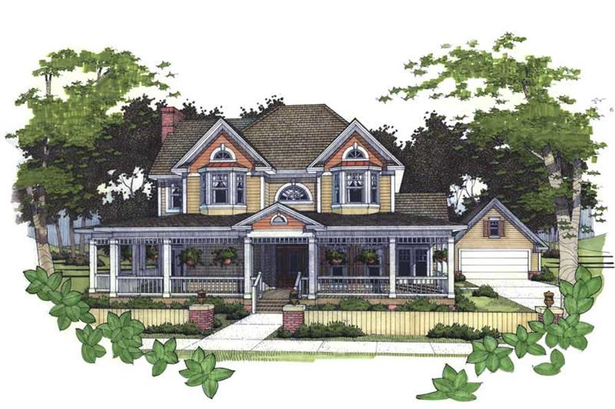 Main image for house plan # 20827