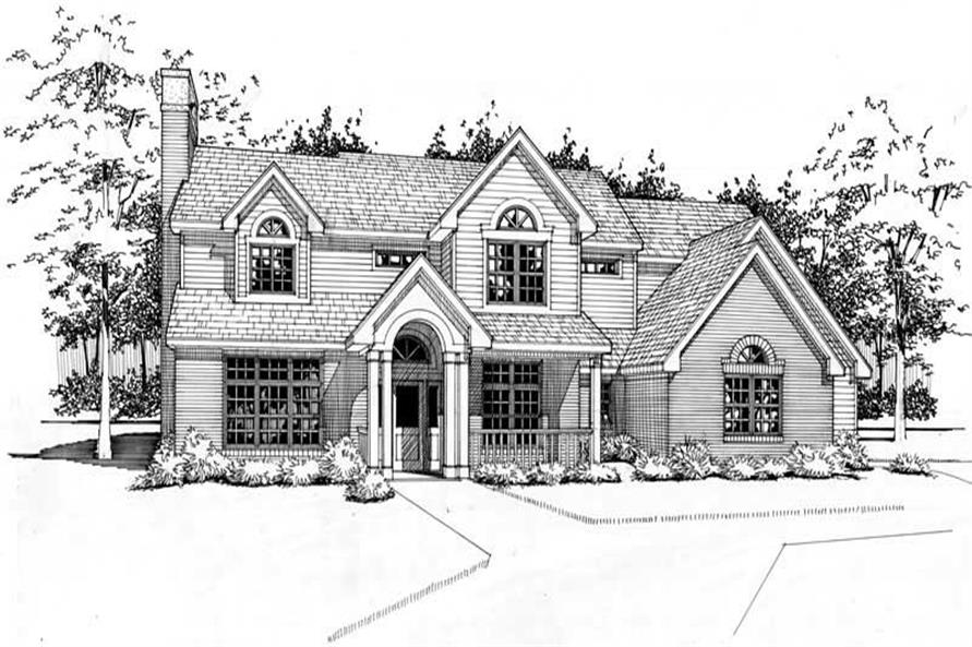 Main image for house plan # 20820