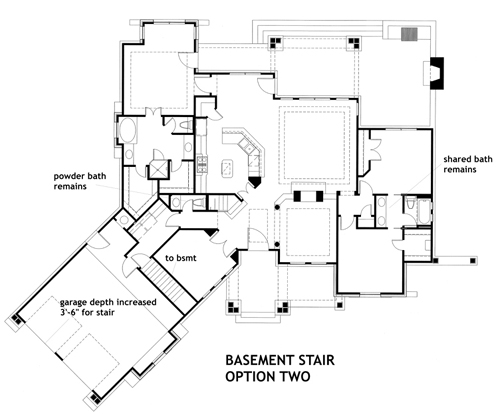 117-1092: Floor Plan Basement