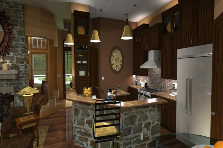 Kitchen of this 3-Bedroom,2091 Sq Ft Plan -2091