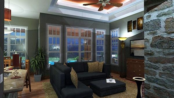 117-1092 house plan family room