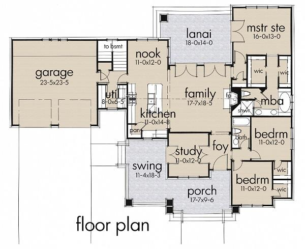 117-1095: Floor Plan Main Level