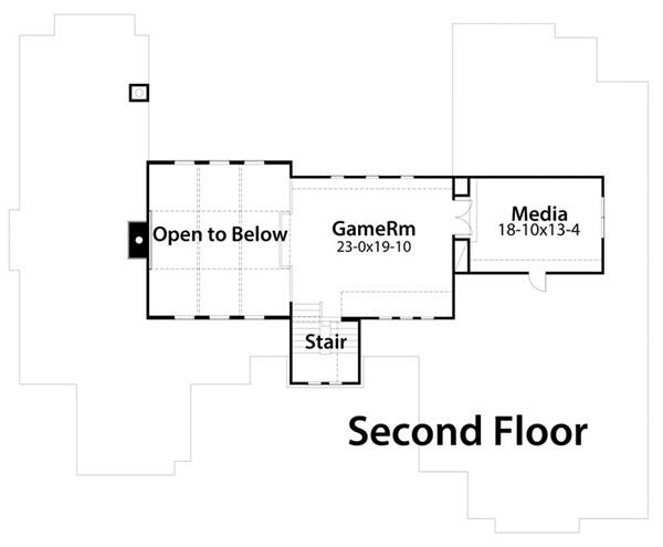117-1096: Floor Plan Upper Level