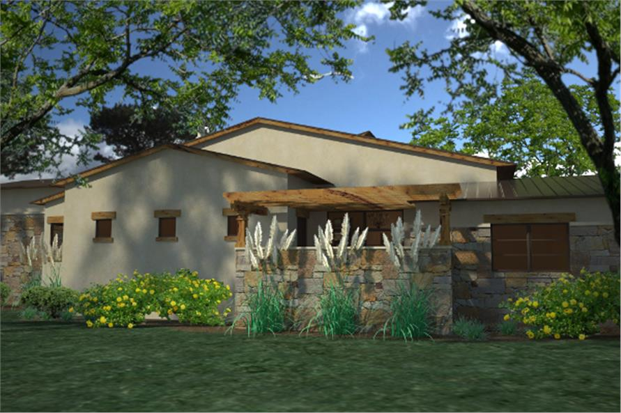 Left Side View of this 3-Bedroom,3638 Sq Ft Plan -3638