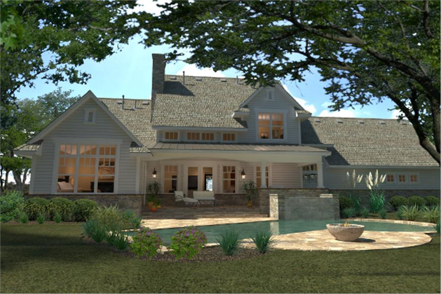 Southern House Plan #117-1100: 4 Bedrm, 2414 Sq Ft Home ...