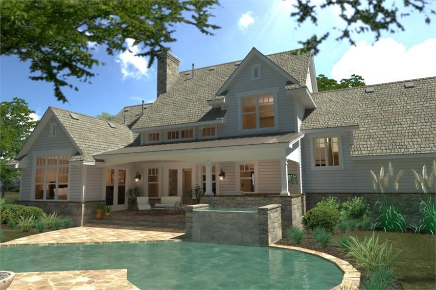 Pool of this 4-Bedroom,2414 Sq Ft Plan -117-1100