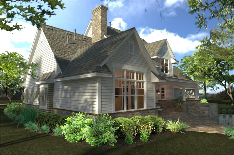 Porch of this 4-Bedroom,2414 Sq Ft Plan -117-1100