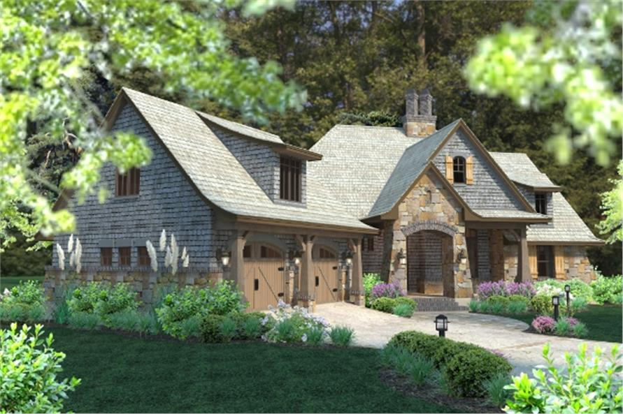 117-1102: Home Plan Rendering