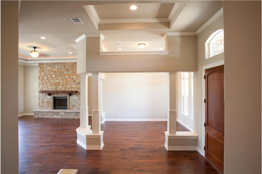 Entry Hall: Foyer of this 3-Bedroom,2847 Sq Ft Plan -2847
