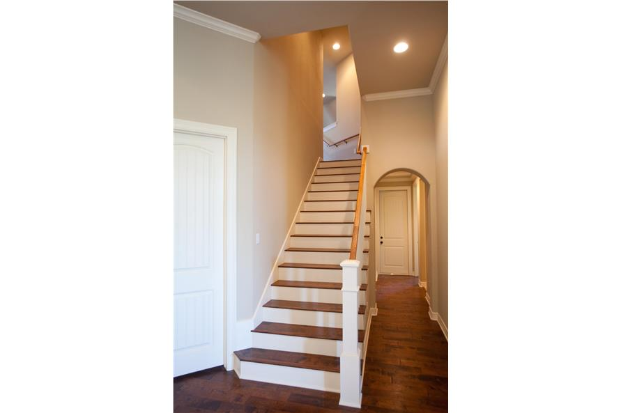 Entry Hall: Staircase of this 3-Bedroom,2847 Sq Ft Plan -2847