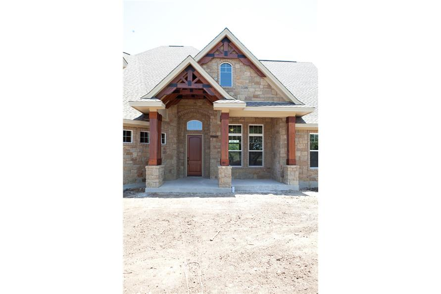 Front Door of this 3-Bedroom,2847 Sq Ft Plan -2847