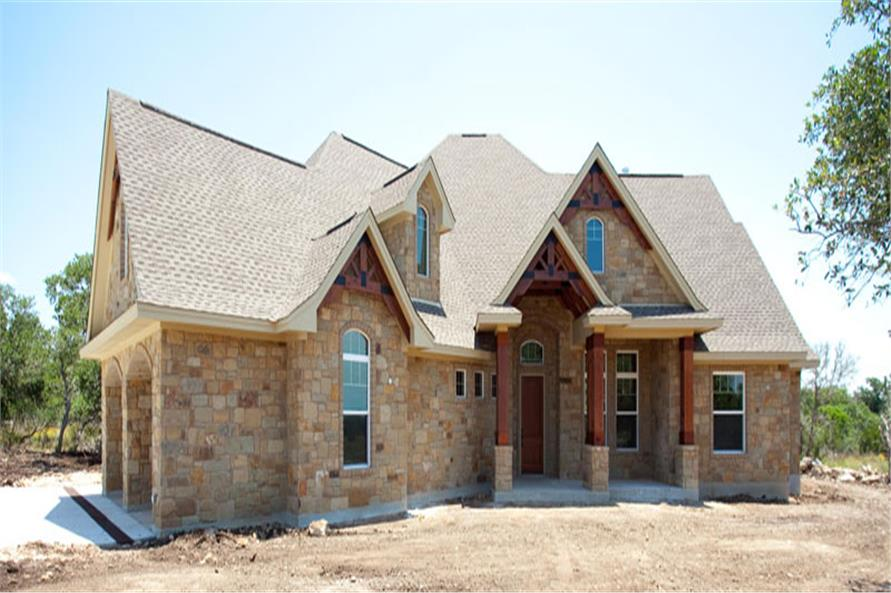 Front View of this 3-Bedroom,2847 Sq Ft Plan -2847