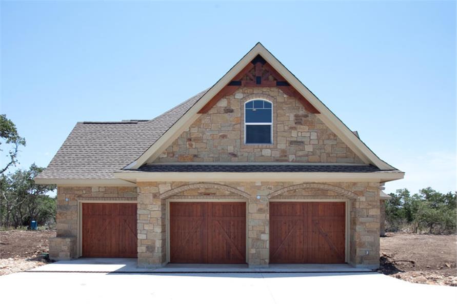 117-1103: Home Exterior Photograph-Garage