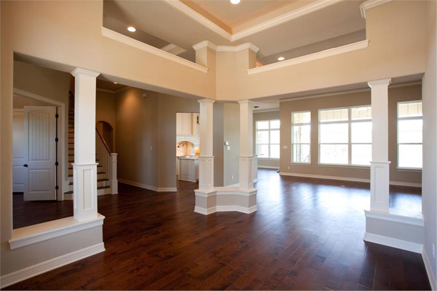 Dining Room of this 3-Bedroom,2847 Sq Ft Plan -2847