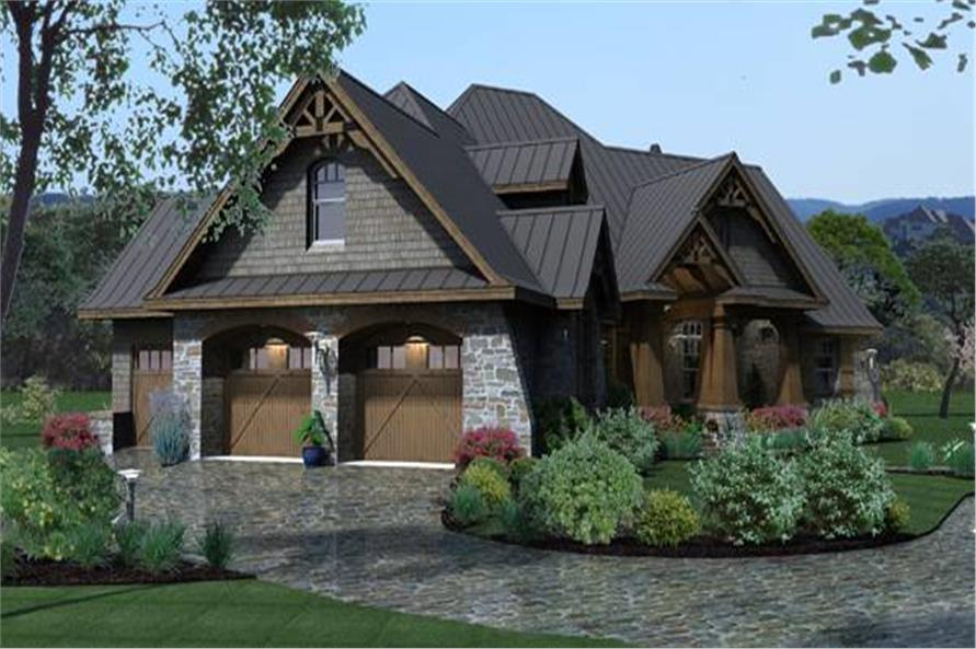 Garage of this 3-Bedroom,2847 Sq Ft Plan -2847