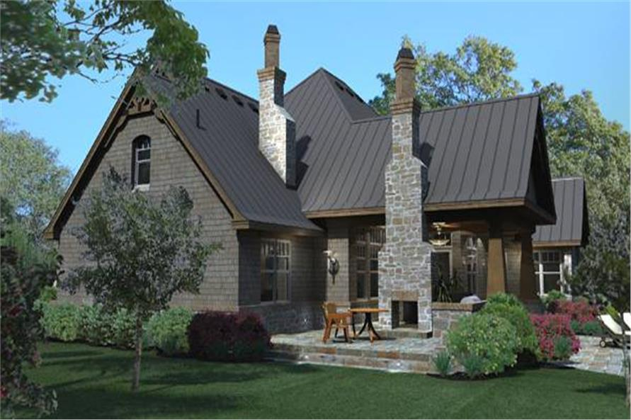 Texas Style Craftsman House Plan Wall Stree Journal
