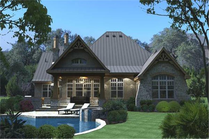 Home Plan Rendering of this 3-Bedroom,2847 Sq Ft Plan -117-1103