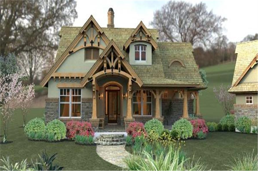 Bungalow House Plan 117 1104 3 Bedrm 1421 Sq Ft Home