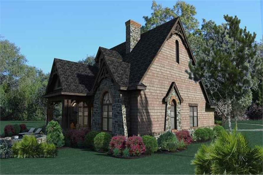 Left View of this 3-Bedroom,1698 Sq Ft Plan -117-1105