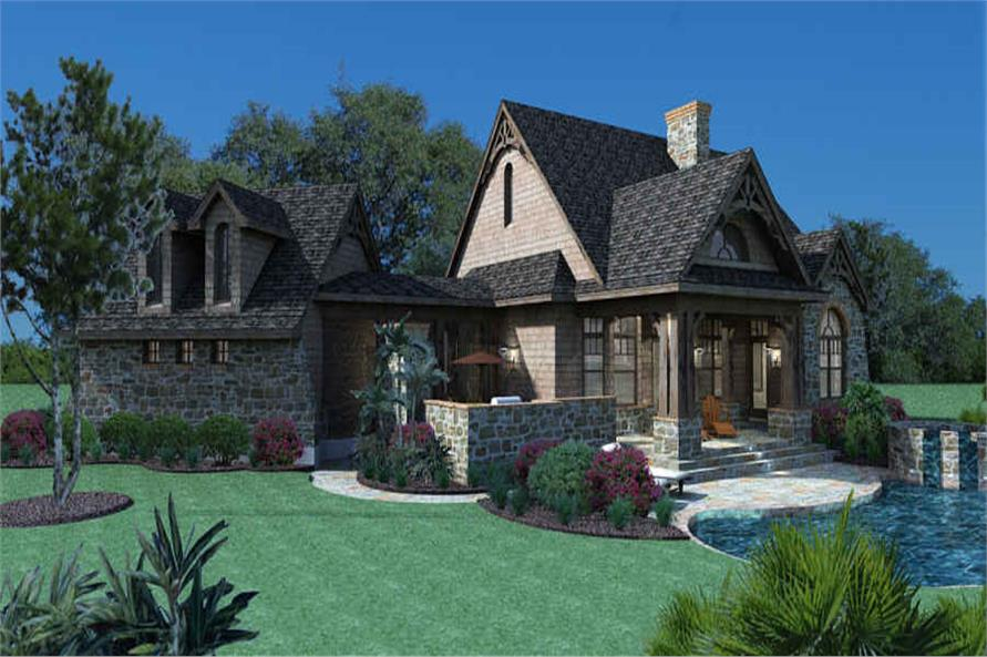 Right View of this 3-Bedroom,1698 Sq Ft Plan -117-1105